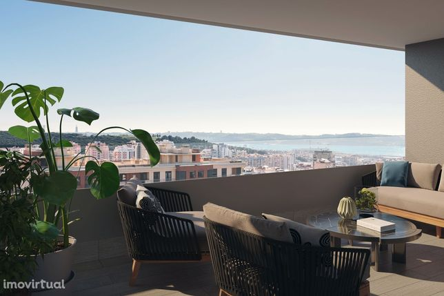 Apartamento Novo de 4 Assoalhadas no Empreendimento Célere Miraflores