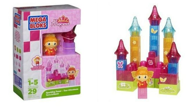 Конструктор Mega Blocks, серия Lil Princess, от 1-5 лет