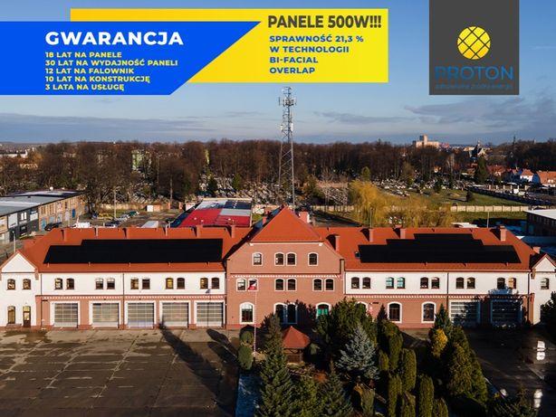Instalacje fotowoltaiczne, Fotowoltaika 10kW, panele słoneczne 500W
