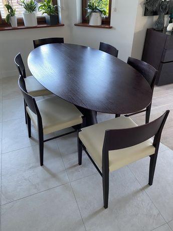 stół z krzesłami Vinotti zestaw