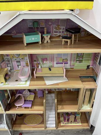 Casa de bonecas completa