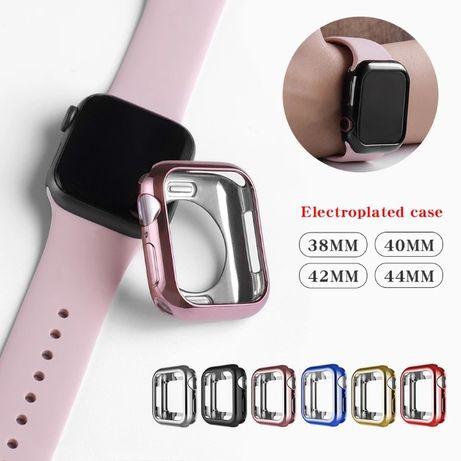 Чехол бампер силиконовый для Apple Watch series 6-1 Эппл вотч