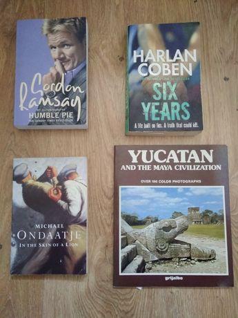 Gordon Ramsay+Harlan Coben+M.Ondaatje+Yucatan=4 w cenie 1