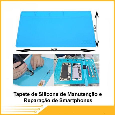 Tapete de Silicone de manutenção e reparação de smartphones