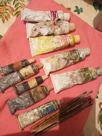 Краска  маслянная   для  художника