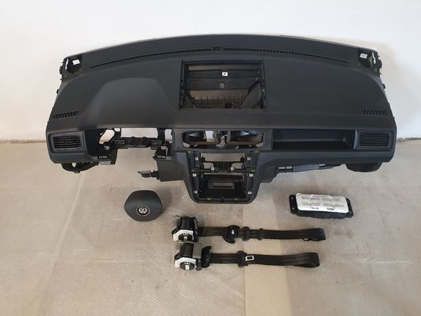 Deska konsola airbag pasy VW Caddy