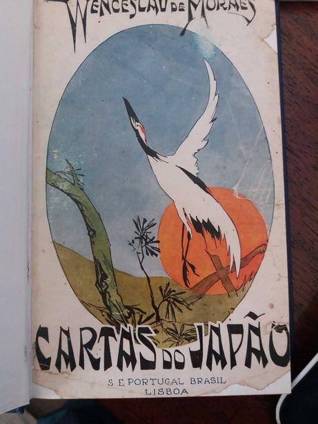 Cartas do Japão - Wenceslau de Moraes - 1ª edição- 2ª serie - Raro