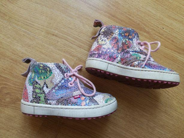 Skórzane buty Emel kolorowe buty przejściowe r. 20