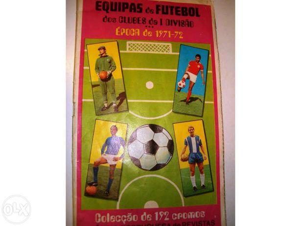 Caderneta de cromos - Futebol 71-72