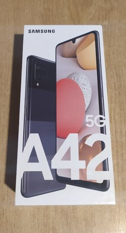 Samsung Galaxy 5G A42  Czarny 128GB