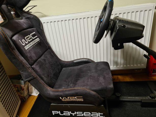 PLAYSEAT WRC Czarny Fotel + Kierownica LOGITECH G29 Driving Force