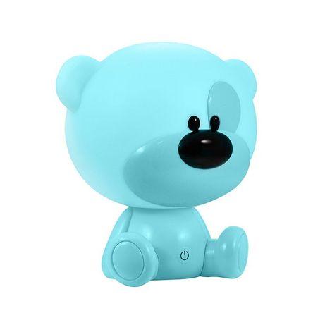 Lampka nocna dziecięca LED Miś BIBI niebieski 2,5W 309891