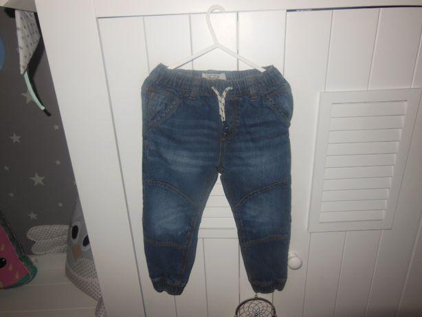 NEXT super spodnie dla chłopca z gumkami r.104cm