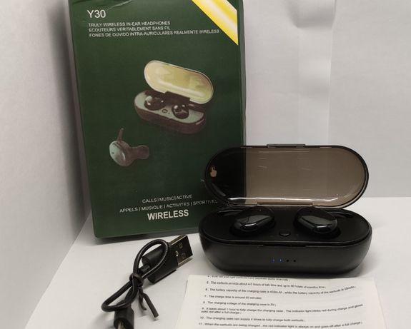 Беспроводные спортивные наушники TWS Y30 (Bluetooth 5.0, IP5)