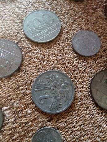 Stare monety m.in. PRL