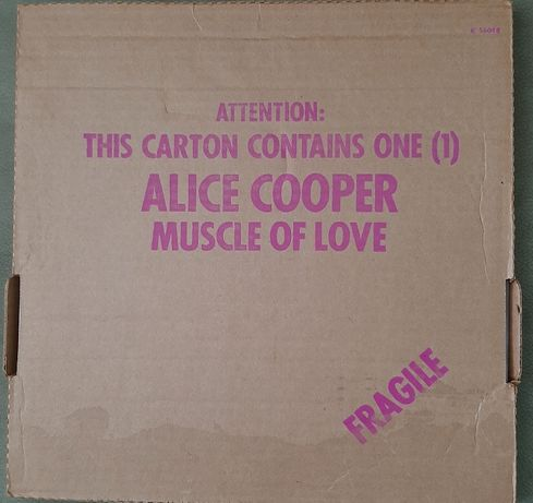 Продам редкую пластинку Alice Cooper–Muscle Of Love -US-1973