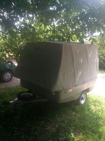 Палатка на колесах.