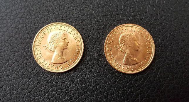 Duas Libras Ouro Elizabeth