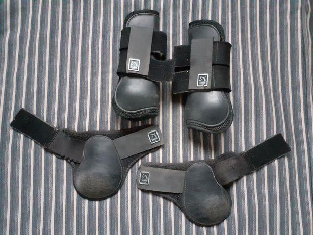 Ochraniacze skorupki Tattini czarne full/cob