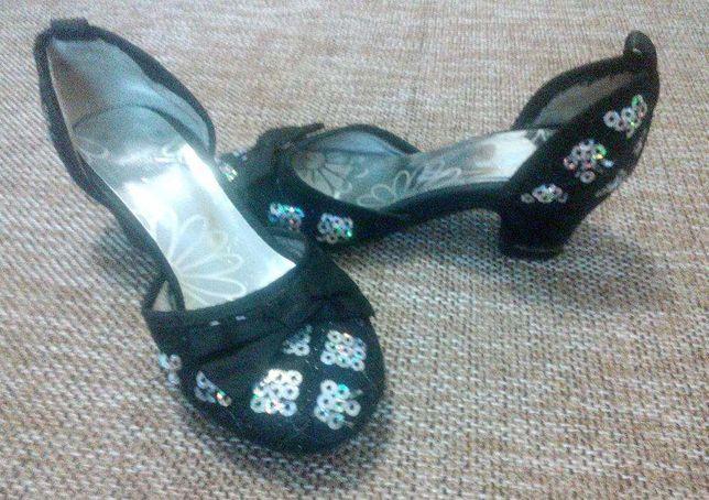 Туфли (можно для танцев) 15 см стелька
