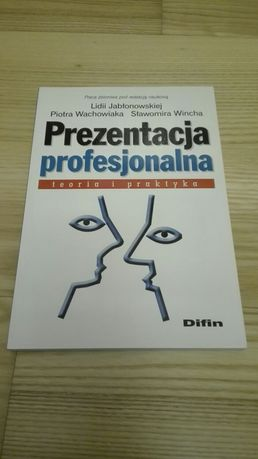 Książka Prezentacja profesjonalna teoria i praktyka