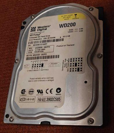 Жесткий диск Western Digital WD200 20GB (IDE/ATA)