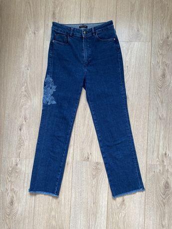 Massimo Dutti джинсы с вышивкой