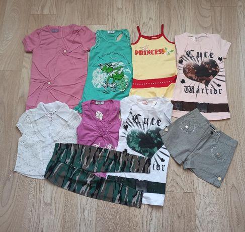 Микс новой летней одежды для девочки, на 6 лет