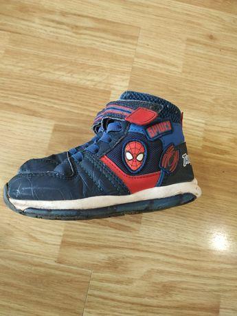 Хайтопы  ботинки George 27 р Marvel мигают высокие кроссовки