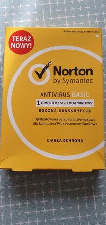 Norton Antyvirus Basic licencja na 1 rok.