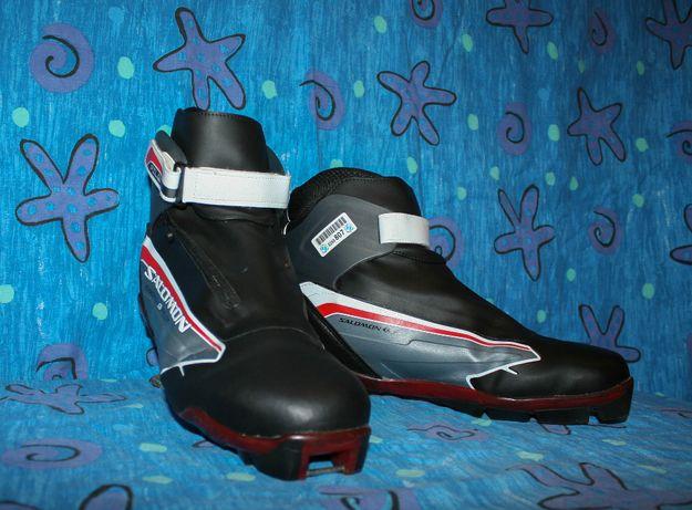 Лыжные беговые термо ботинки Salomon Escape 9, SNS Pilot,48 р