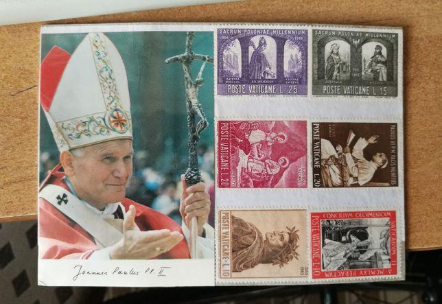 Znaczki pocztowe watykańskie
