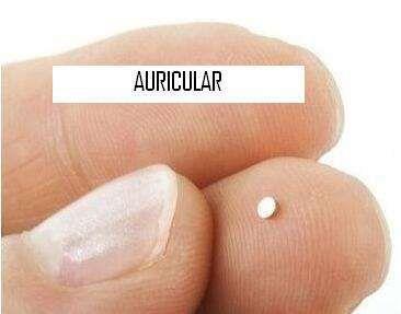 (NOVOS) Nano Auricular invisível sem fios , por indução. Exames