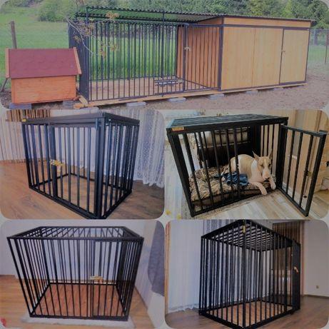 Domowa klatka kennel-kojec,box dla pieska.Wiata,skladzik i inne