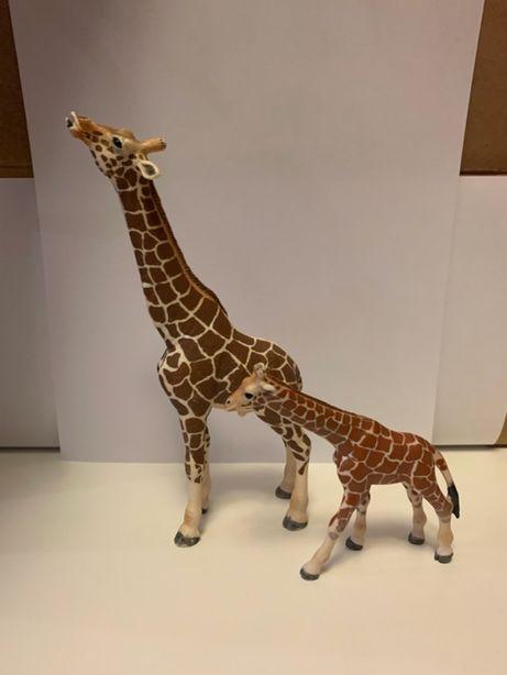 Żyrafa duża i mała Schleich