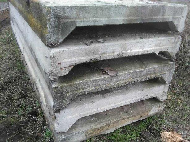 бетонні плити, бетонные плиты