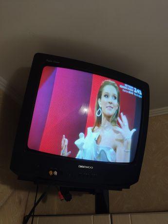 Телевізор TV Daewoo (SCART, AV) з підставкою.