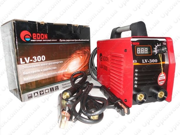 Сварочный аппарат инвертор Edon LV-300 сварка,инвертор, лучшая цена!