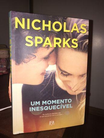 Um momento inesquecível NICHOLAS SPARKS