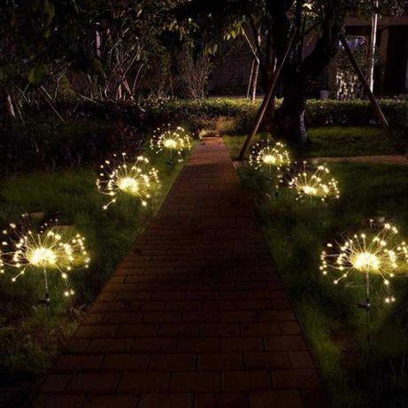 Solarne lampki do ogrodu 90led nowe