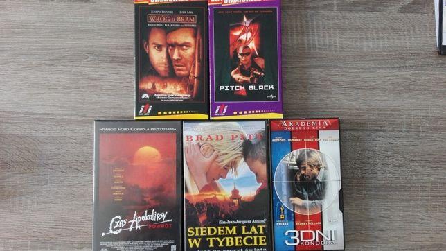 Filmy VHS lub zamiana (Czas Apokalipsy, 3 dni Kondora, 7 lat w Tybecie