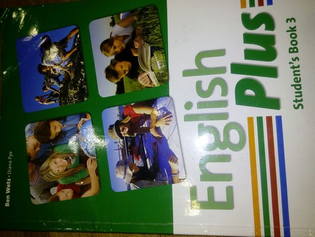 Продам English Plus Student's book 3