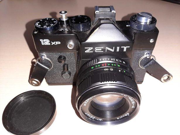 Aparat fotograficzny ZENITH 12XP z akcesoriami