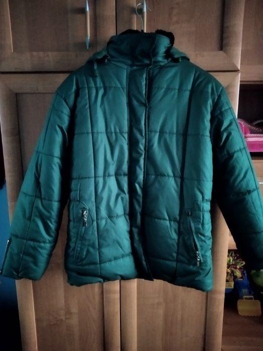 kurtka zimowa z kapturem Sejny - image 1