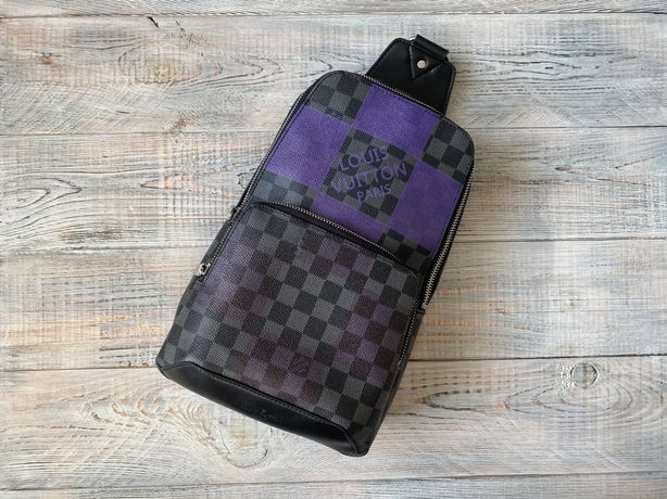 Мужская сумка слинг барсетка Louis Vuitton Луи Витон