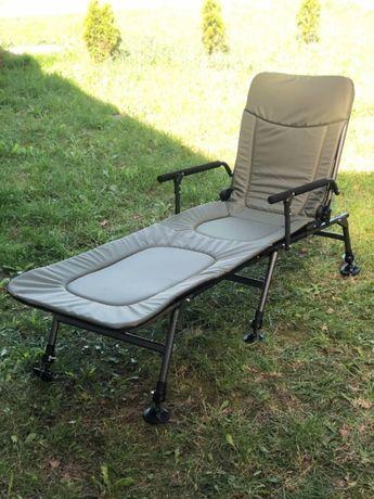 Кресло раскладушка карповая кровать для рыбалки стул Vario Carp + Pod