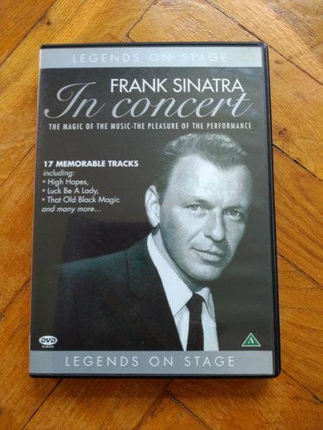 Frank Sinatra in Concert DVD Legends on Stage