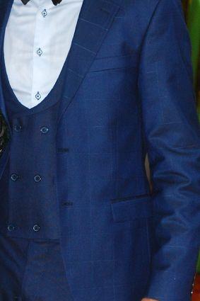 Стильный и красивый мужской костюм-тройка Parlamenter