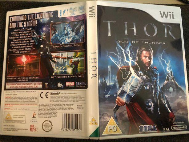 Gry Nintendo Wii Zestaw Thor HAWX King of clubs