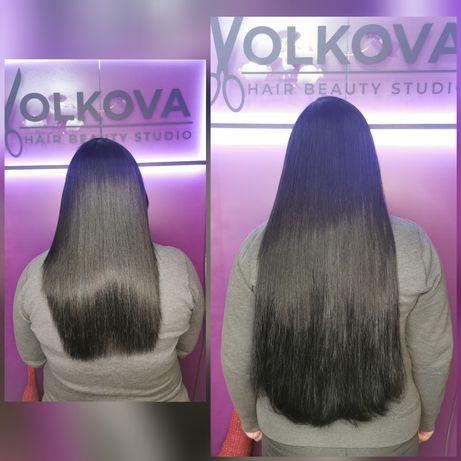 Натуральные волосы для наращивания 70-80см